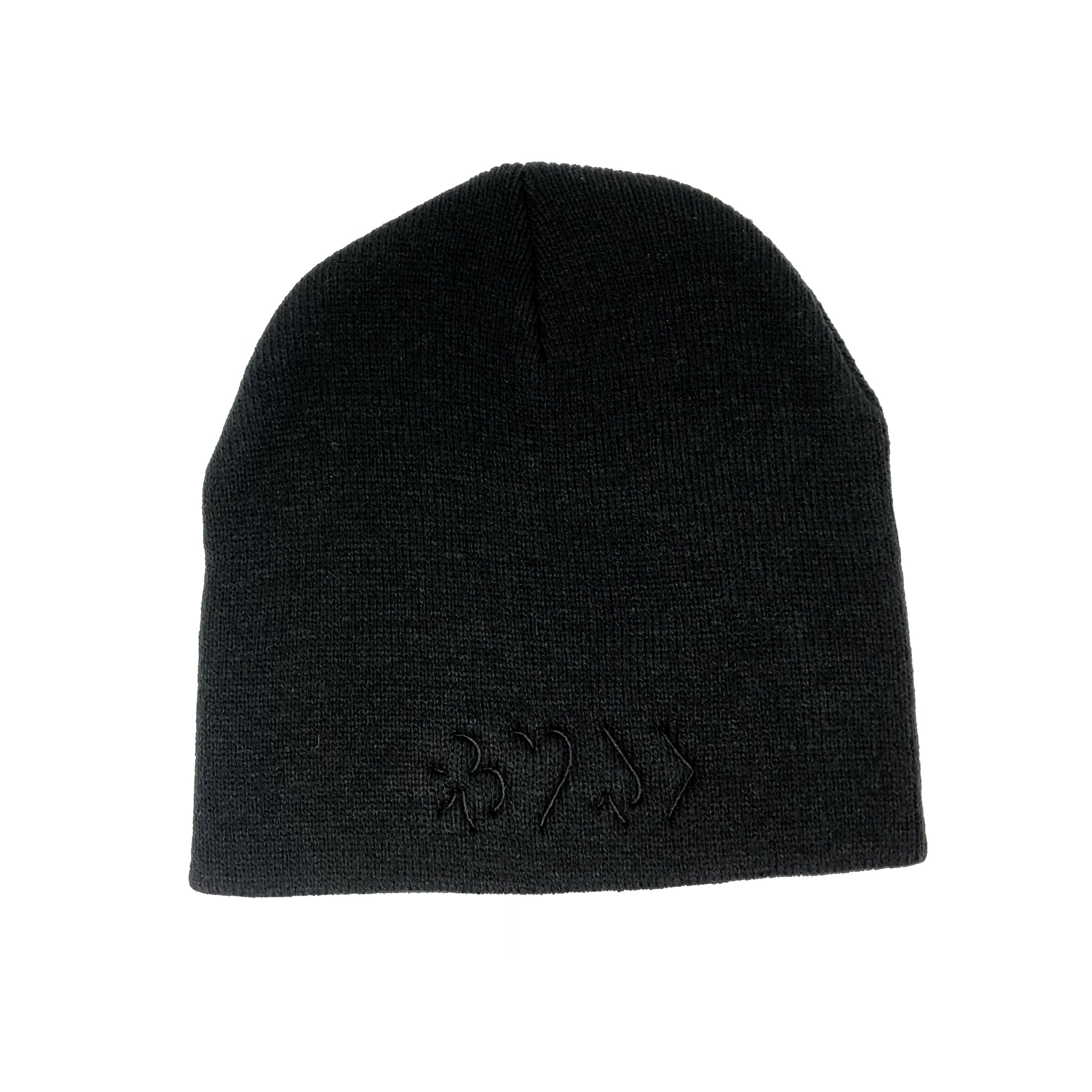 EDGES™ Beanie Tonal Black