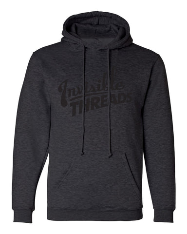 Invisible Threads logo premium hoodie - Black