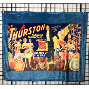 Thurston 'All out of a Hat' Throw Blanket