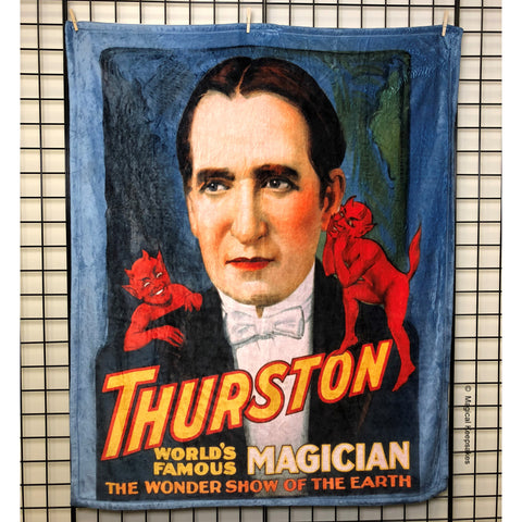 Thurston 'World's Famous' Throw Blanket