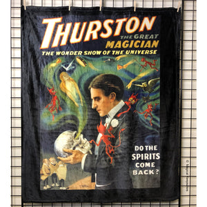 Thurston 'Do the Spirits Come Back' Throw Blanket