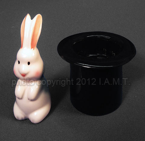 Rabbit in the Hat Salt & Pepper Set