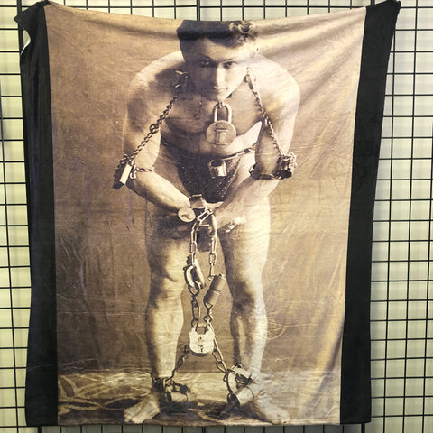 Houdini in Chains Throw Blanket *EXCLUSIVE*