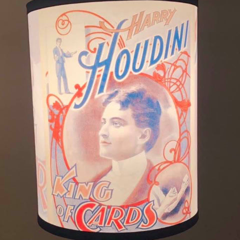 "Houdini ""King of Cards"" Lamp"