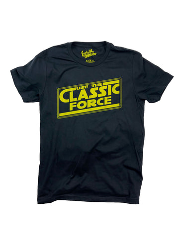 """Use the Classic Force"" tee"