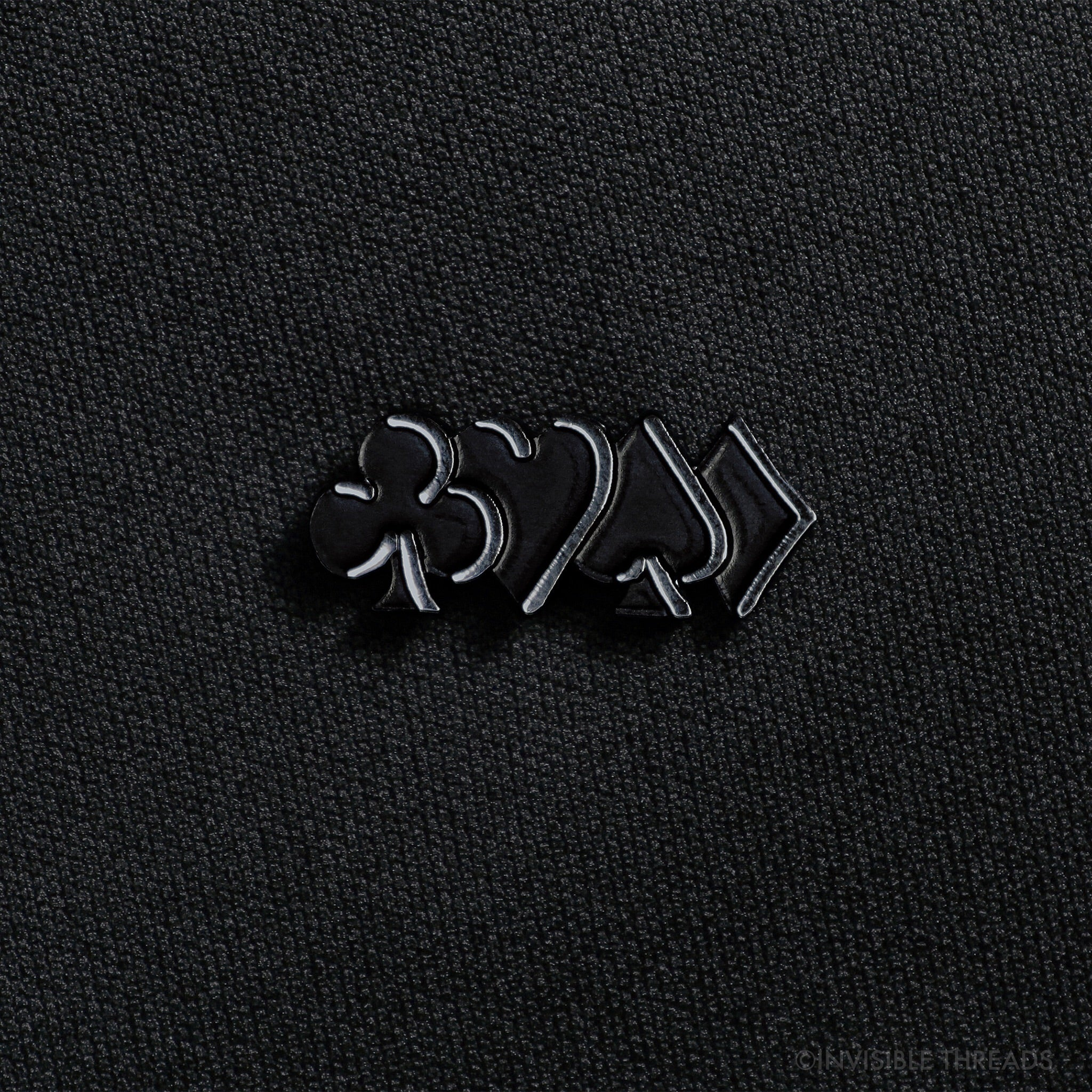 'Edges' lapel pin