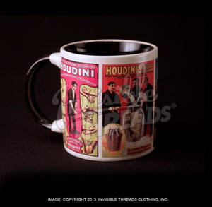 Harry Houdini magic changing coffee cup from Invisible Threads