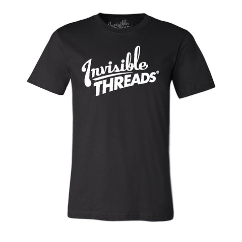 Invisible Threads logo tee