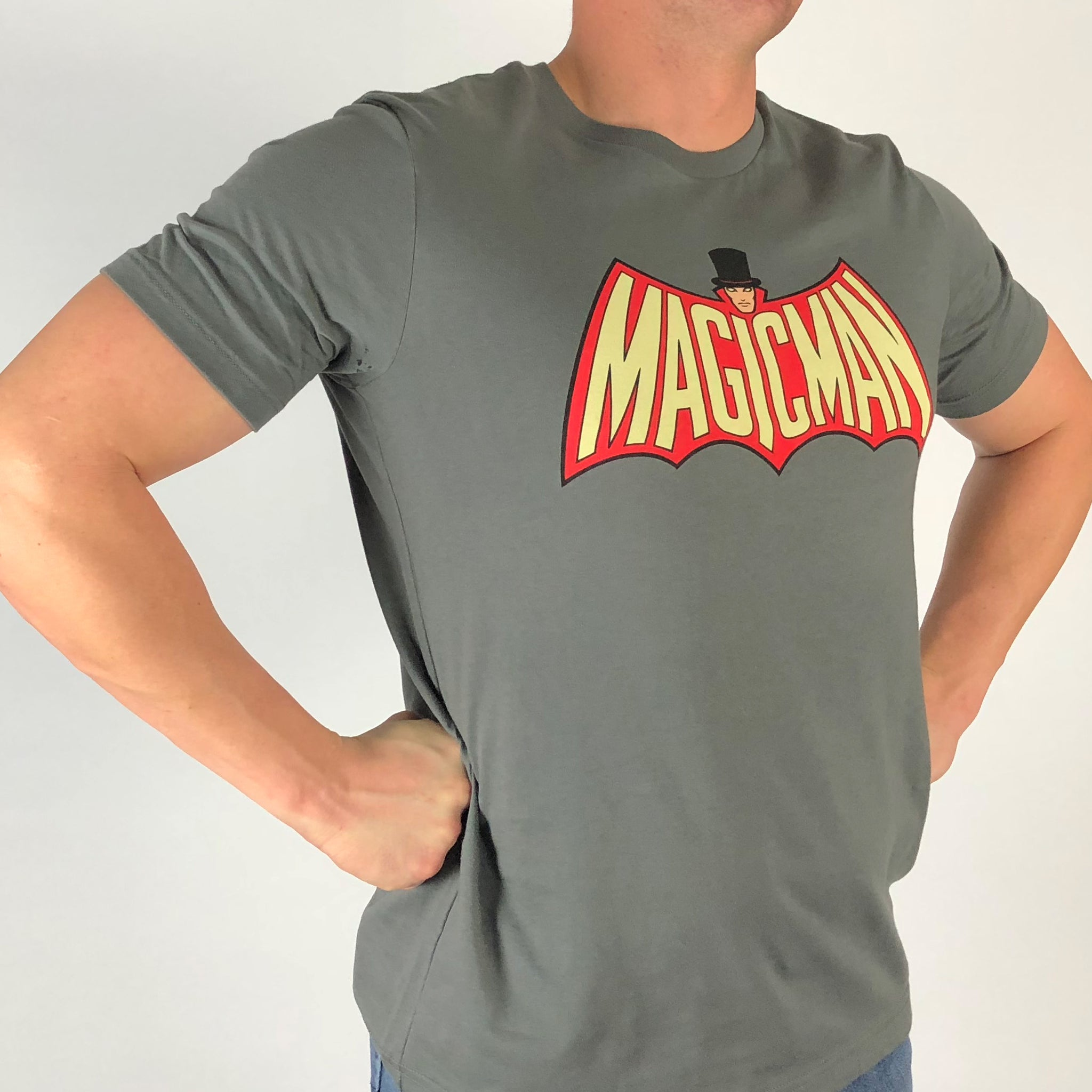 Invisible Threads Magic Man graphic t shirt classic