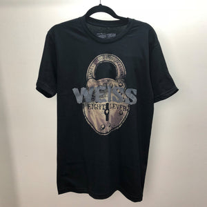invisible threads weiss graphic tee inspired by harry houdini WEISS lock and key locksmiths