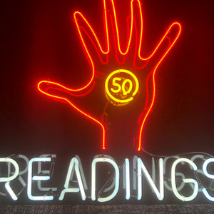 Palm Readings Neon Sign
