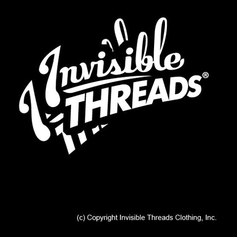 Invisible Threads Sticker (FREE with purchase of any shirt!)