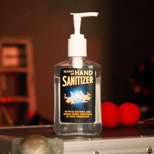 invisible threads novelty hand sanitizer made in usa sleight of hand sanitizer