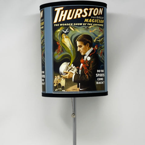 "Thurston ""Do The Spirits Come Back"" Lamp"