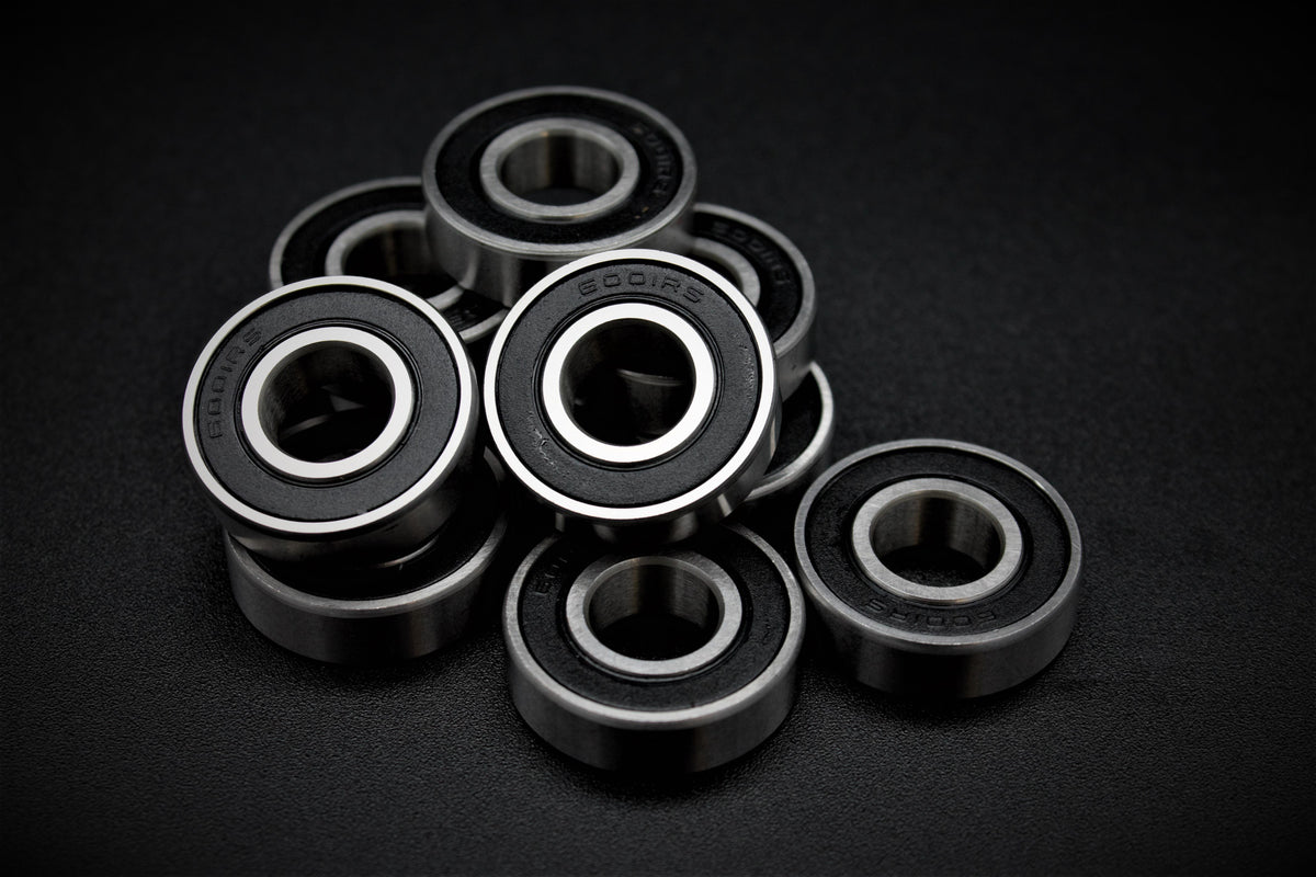 Precision Hybrid Ceramic Bearings (made in Japan) - 6001-2RS (12mm axle) Add-on Lacroix Boards