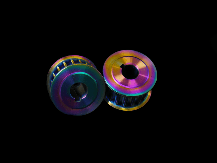 Titanium Motor Pulleys Add-on Lacroix Boards