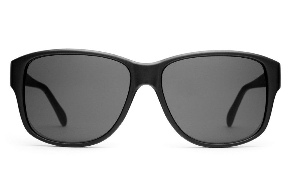 The Lo Max - Flat Black - w/ Grey CR-39 Lenses - Sunglasses