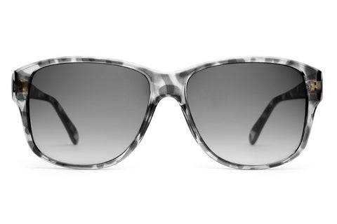 The Lo Max - Gloss Ash Tortoise - w/ Grey Gradient CR-39 Lenses - Sunglasses
