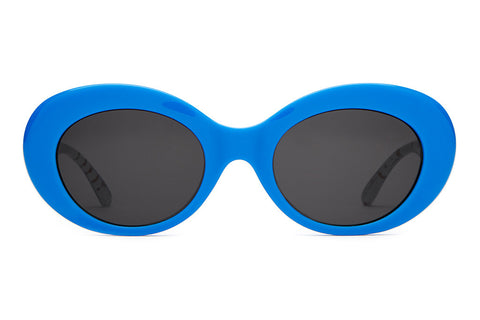 The Love Tempo - Hello Kitty Gloss Blue - w/ Grey CR-39 Lenses - Sunglasses