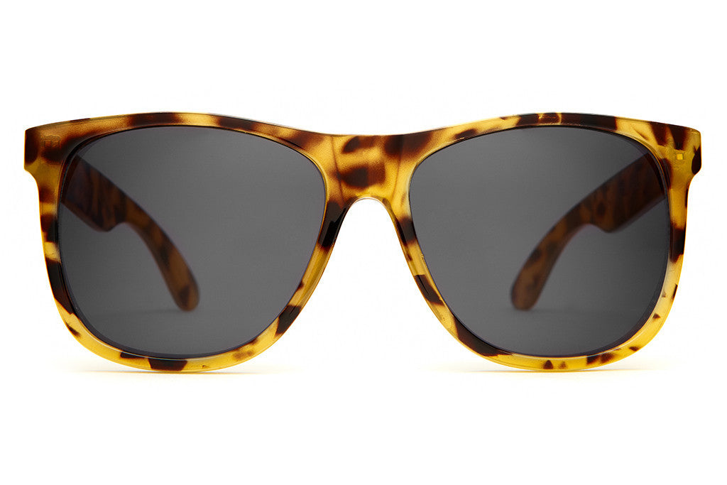 The Beach Party - Gloss Jungle Tortoise - w/ Grey CR-39 Lenses - Sunglasses
