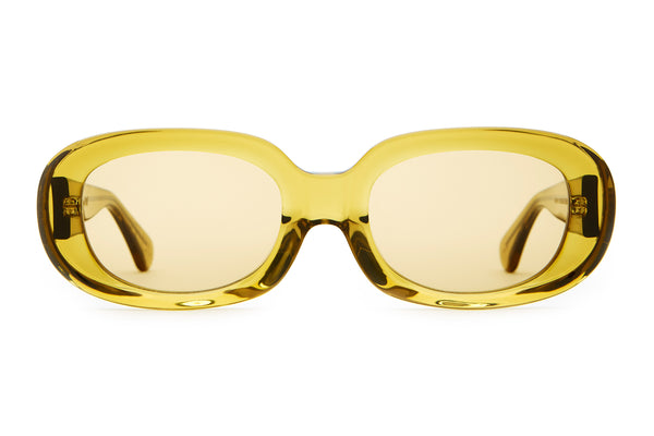 The Bikini Vision - Crystal Kelp - / Mustard - Sunglasses