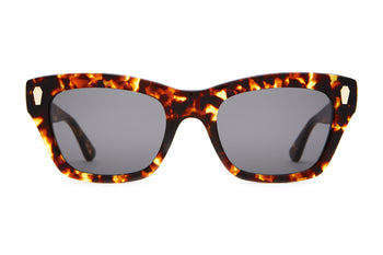 The Cosmic Highway - Dark Tortoise - / Polarized Grey - Sunglasses