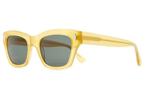 The Cosmic Highway - Gloss Honey Acetate - w/ Vintage Green CR-39 Lenses - Sunglasses