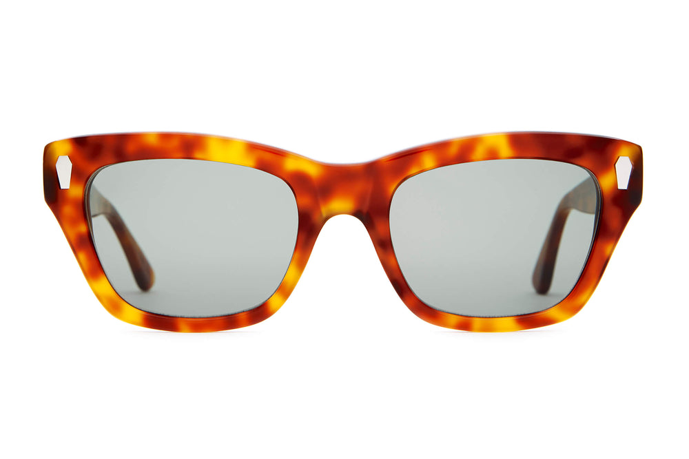 The Cosmic Highway - Havana Tortoise - / Vintage Green - Sunglasses