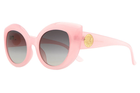 The Diamond Brunch - Semitranslucent Cotton Candy - w/ Grey Gradient CR-39 Lenses - Sunglasses