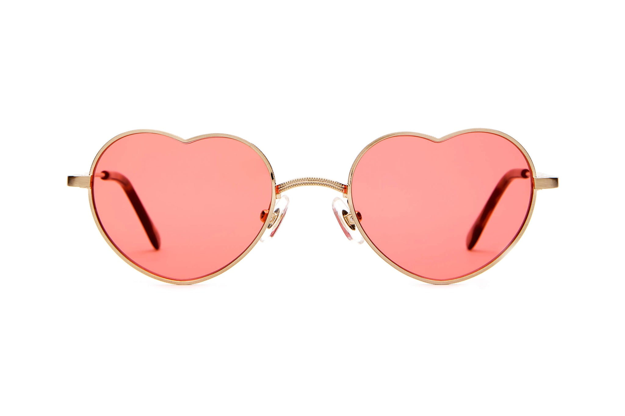 The Doctor Love - Brushed Gold & Dark Tortoise - / Deep Rose - Sunglasses
