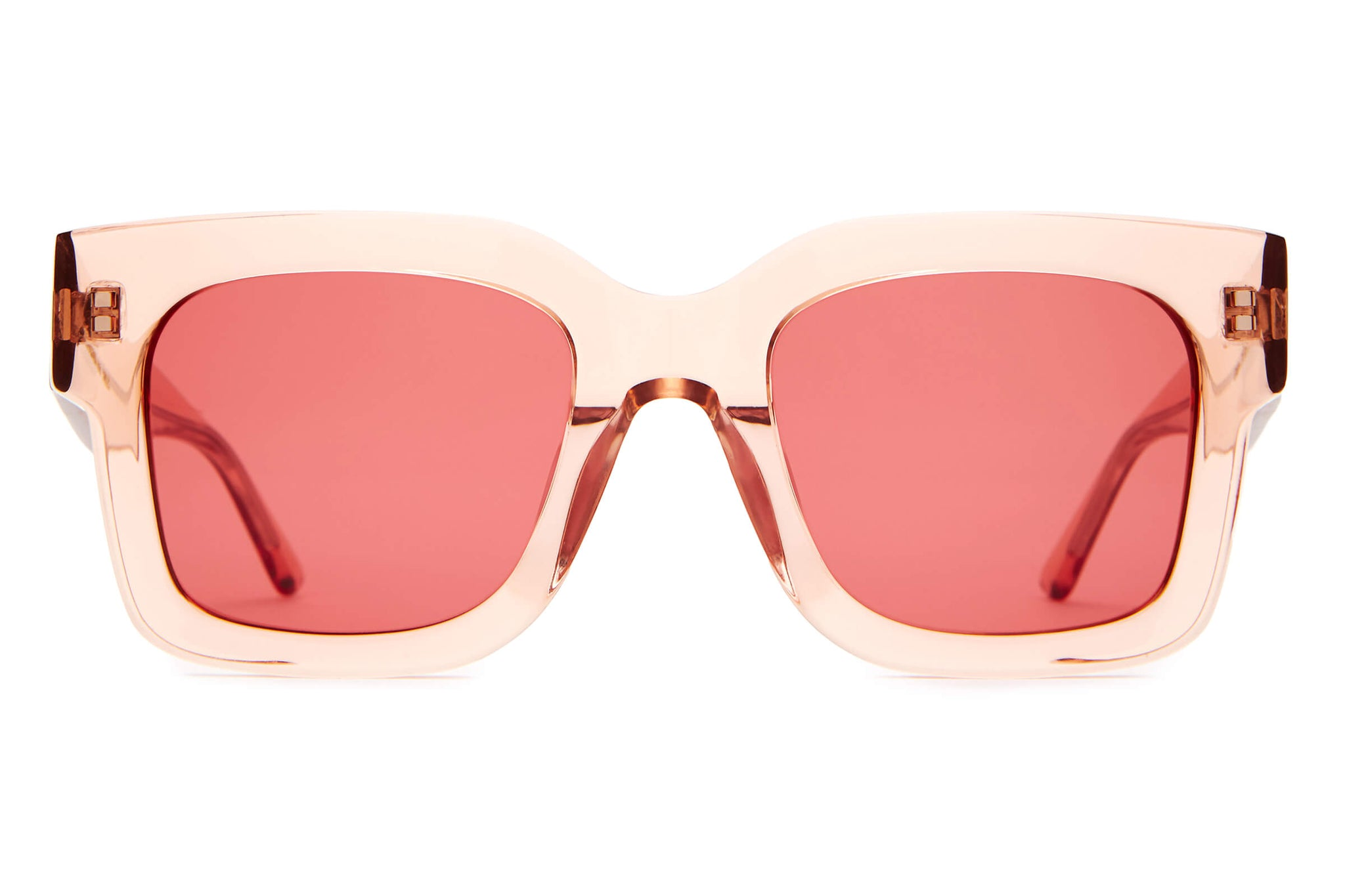 The Downtown Purr - Crystal Rose - / Deep Rose - Sunglasses