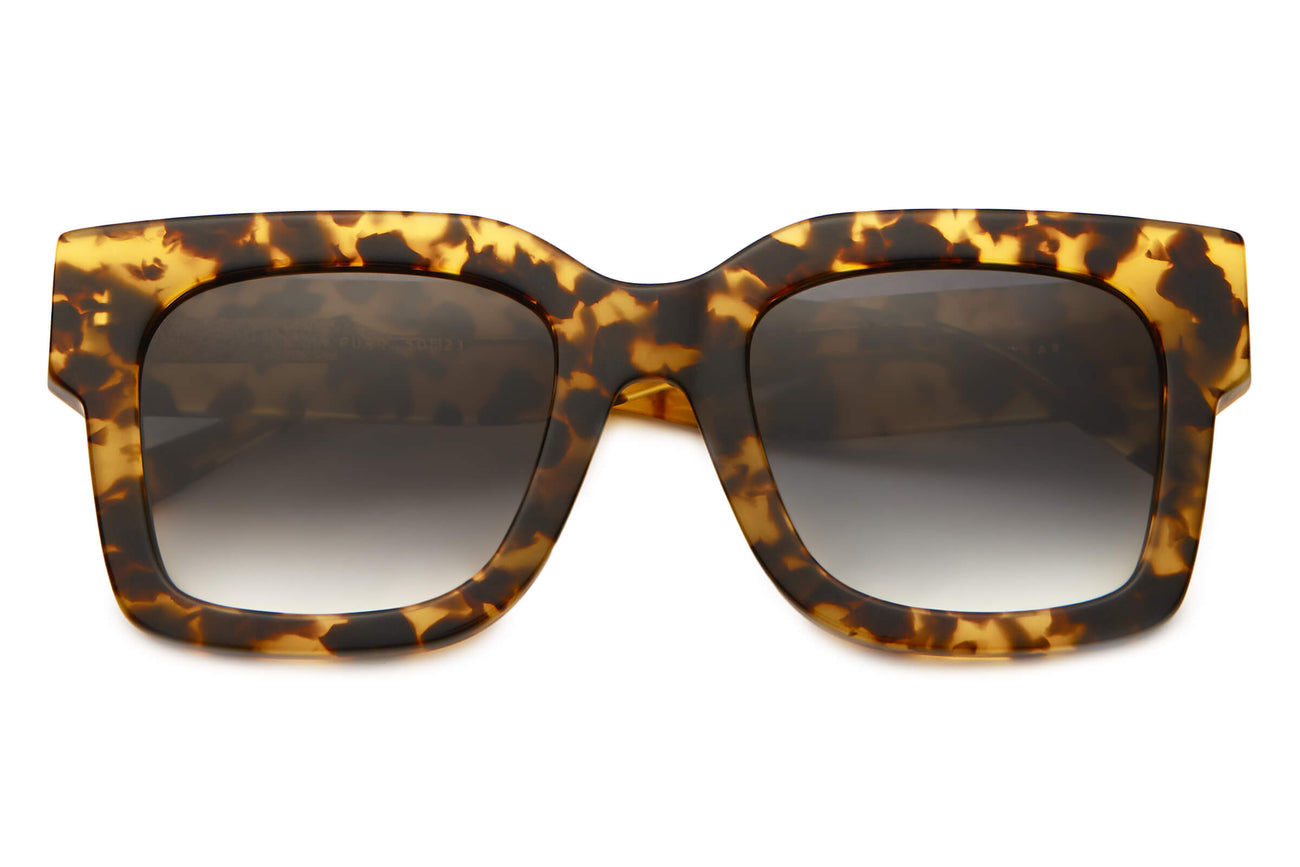 The Downtown Purr - Tokyo Tortoise - / Grey Gradient - Sunglasses