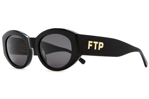 The FTP - Gloss Black Acetate - w/ Grey CR-39 Lenses - Sunglasses