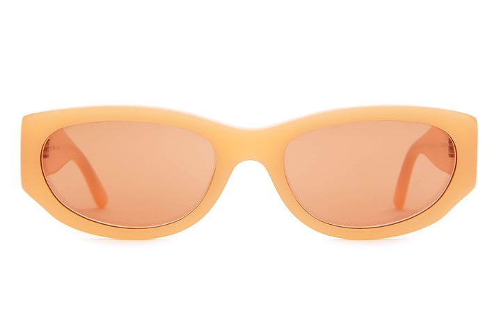 The Funk Punk - Bleached Neon Orange - / Orange Flash - Sunglasses