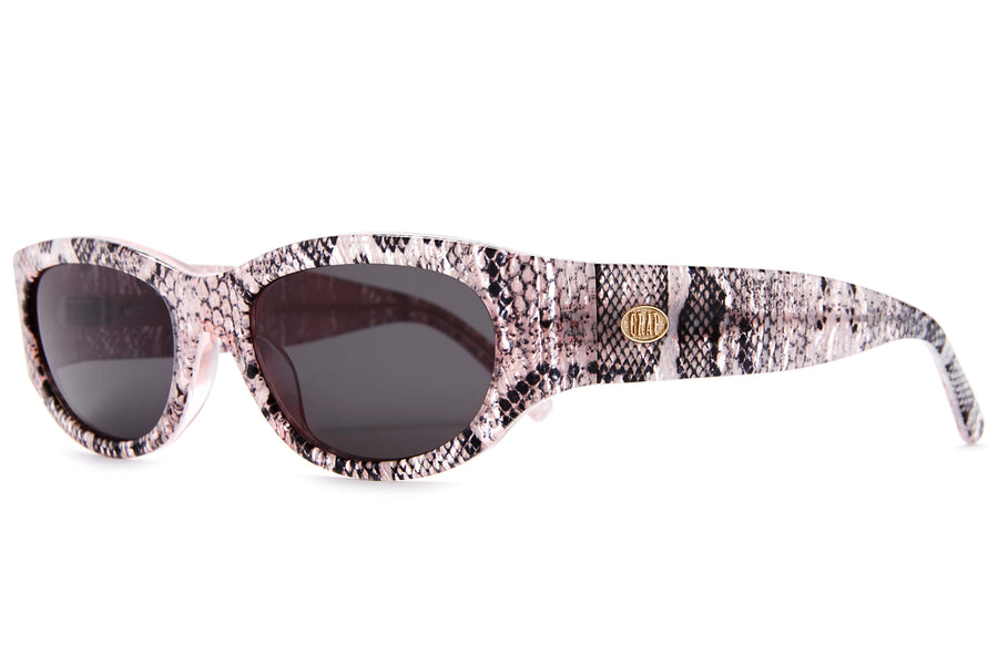 The Funk Punk - Hot Lava Snake - / Grey - Sunglasses
