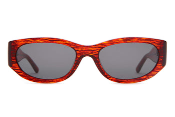 The Funk Punk - Red Heatwave - / Grey - Sunglasses