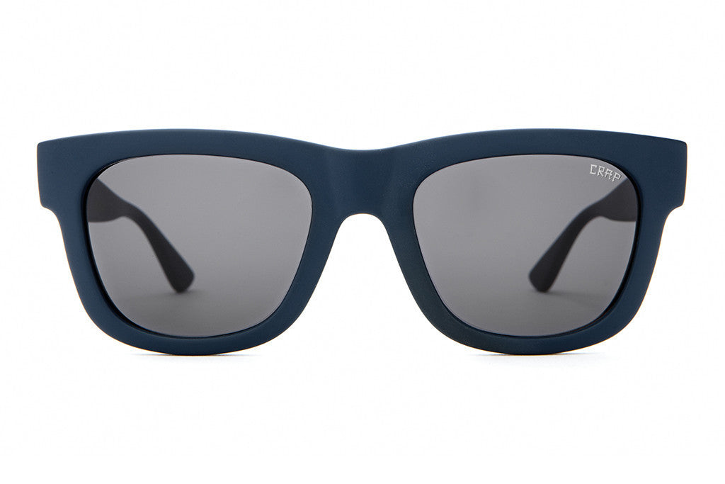 The Garageland - VENICE ORIGINALS Matte Navy Blue - w/ Grey CR-39 Lenses - Sunglasses