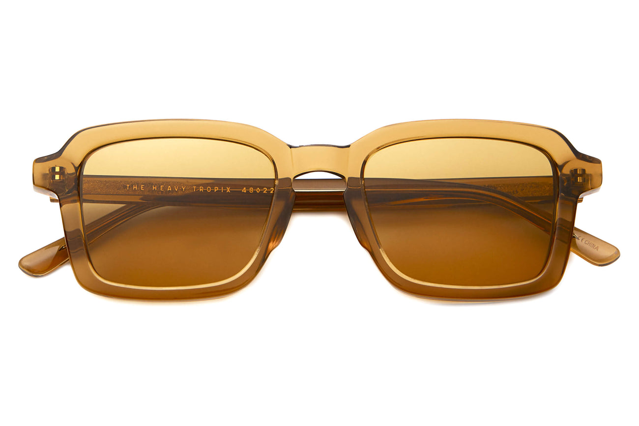 The Heavy Tropix - Crystal Sand - / Mustard - Sunglasses
