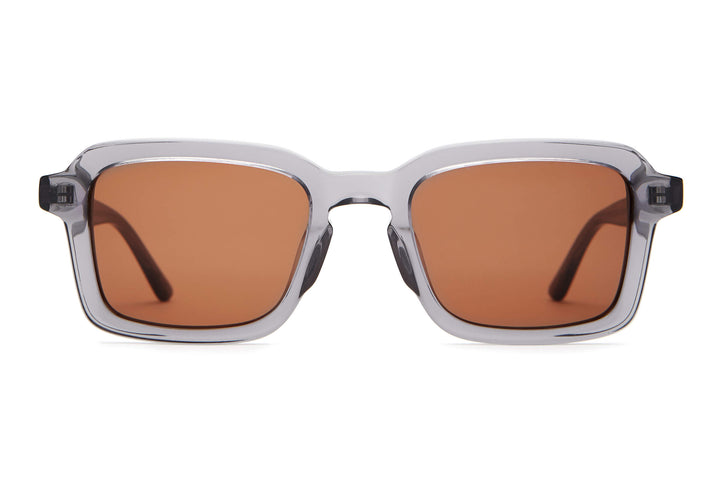 The Heavy Tropix - Crystal Smoke - / Amber - Sunglasses
