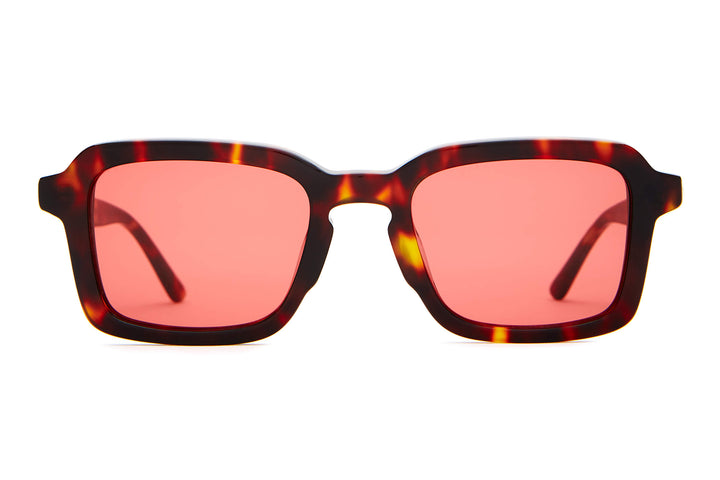 The Heavy Tropix - Dark Tortoise - / Deep Rose - Sunglasses