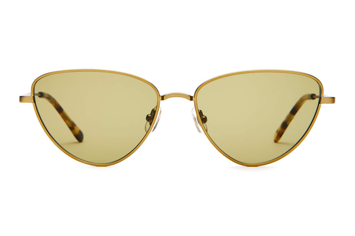 The Honey Buzz - Brushed Bronze & Tokyo Tortoise - / Olive - Sunglasses