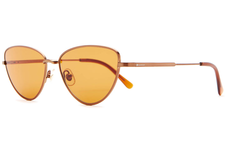 The Honey Buzz - Copper & Crystal Bourbon - / Burnt Orange - Sunglasses