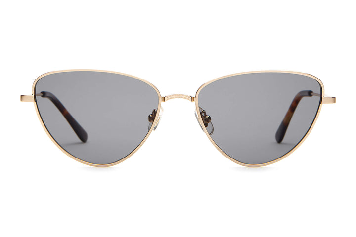 ab2bbf5958f The Honey Buzz - Brushed Gold   Dark Tortoise -   Polarized Grey -  Sunglasses ...