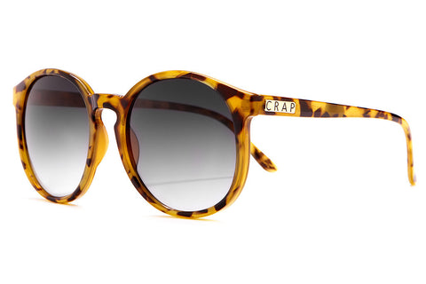 The Human Fly - Gloss Jungle Tortoise - w/ Grey Gradient CR-39 Lenses - Sunglasses