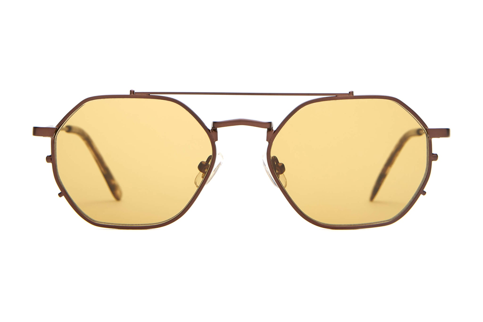 The Jazz Safari - Espresso & Espresso Tortoise - / Mustard - Sunglasses