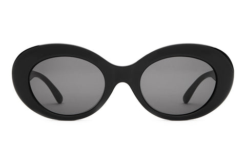 The Love Tempo - Gloss Black - w/ Grey CR-39 Lenses - Sunglasses