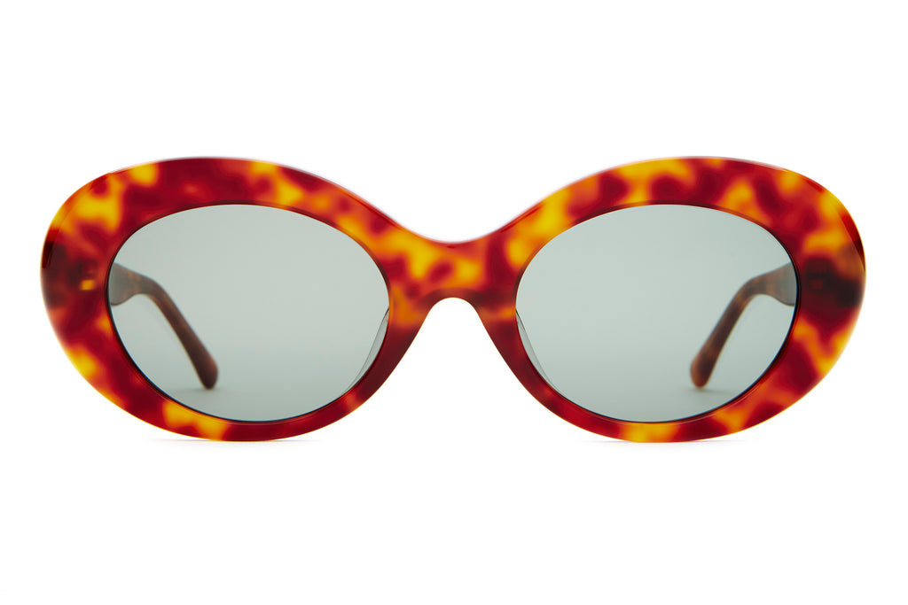 The Love Tempo - Havana Tortoise - / Vintage Green - Sunglasses
