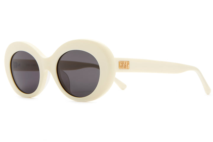 The Love Tempo - Eggshell White - / Grey - Sunglasses