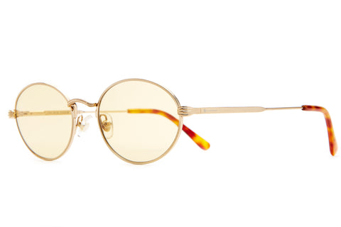 The New Riddim - Brushed Gold & Havana Tortoise - / Gold Tint - Sunglasses