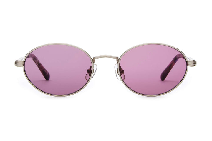 The New Riddim - Polished Silver - / Purple Haze - Sunglasses